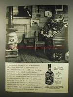 1957 Jack Daniels Whiskey Ad - A Tradition Lives Here