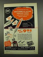 1957 Craftsman Jet Action Propane Torch Ad