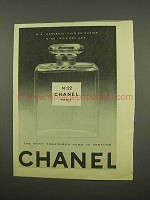 1957 Chanel No. 22 Perfume Ad