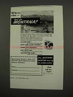 1957 Montana Tourism Ad - Where Else