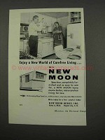 1957 New Moon Mobile Home Ad - Carefree Living