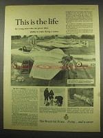 1956 Royal Air Force Ad - This is The Life