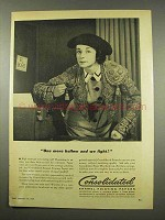 1956 Consolidated Enamel Printing Papers Ad - We Fight