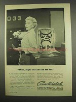 1956 Consolidated Enamel Printing Papers Ad - Cool Off