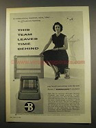 1956 Burroughs Series C Calculator Ad - Time Behind