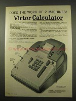 1956 Victor Mult-O-Matic Calculator Ad - Work of 2