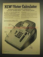 1956 Victor Mult-O-Matic Calculator Ad