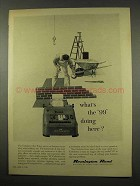 1956 Remington Rand 99 Printing Calculator Ad