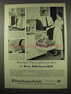 1956 KitchenAid Dishwasher Ad - I'm So Glad You Chose