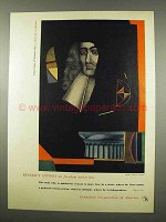 1956 Container Corp. of America Ad - Richard Lindner