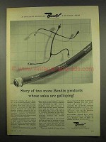 1956 Bendix Scinseal Wiring Harness Ad - Galloping