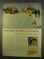 1956 Caterpillar Tractor Ad, Distant Early Warning Line