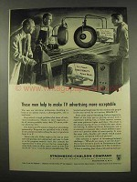 1956 Stromberg-Carlson Television Ad - TV Advertising
