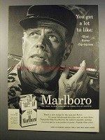 1956 Marlboro Cigarettes Ad - You Get A Lot to Like