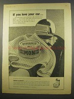 1956 Simoniz Wax for Cars Ad - If You Love Your Car