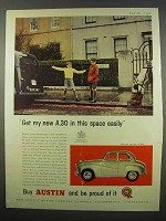 1956 Austin Seven A.30 Car Ad - In This Space Easily