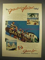 1956 Grace Line Cruise Ad - Grand and Glorious