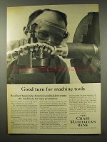 1956 Chase Manhattan Bank Ad - For Machine Tools