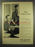 1956 New England Mutual Life Insurance Ad - Ulcers