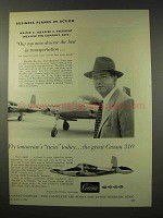 1956 Cessna 310 Plane Ad - Top Men Deserve the Best