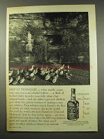 1956 Jack Daniel's Whiskey Ad - Deep in Tennessee