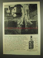 1956 Jack Daniel's Whiskey Ad - From Blazing Ricks