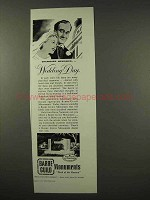 1956 Barre Guild Monuments Ad - Wedding Day