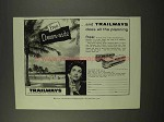1956 Trailways Bus Ad - Free Dream-Aids