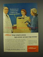 1956 NCR Automatic Change Computer Ad - Register that Figures