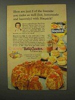 1956 Betty Crocker Bisquick Ad - You Make So Well