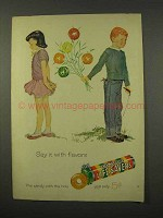 1956 LifeSavers Five Flavor Candy Ad - Say It With