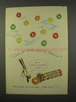 1956 LifeSavers Five Flavor Candy Ad - Out of World