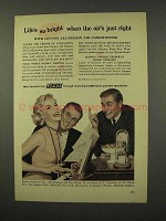 1956 Lennox Air Conditioner Ad - Life's So Bright