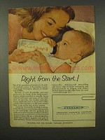 1956 American Cyanamid Ad - Right From the Start