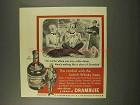 1956 Drambuie Liqueur Ad - Cordial with Scotch Whisky Base