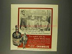 1956 Drambuie Liqueur Ad - The Cordial with Scotch Base