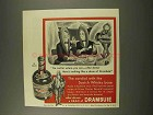 1956 Drambuie Liqueur Ad - Cordial with Scotch Base