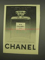 1956 Chanel No. 5 Perfume Ad