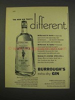 1956 Burrough's Gin Ad - Different