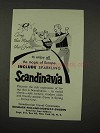 1956 Scandinavia Tourism Ad - Enjoy All The Magic