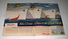 1956 Matson Lines Cruise Ad - Ships to South Pacific
