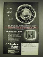 1949 Mosler Safe Ad - What's Behind the Dial?