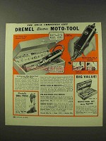 1949 Dremel Moto-Tool Ad - The Ideal Christmas Gift