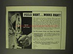 1949 Stanley No. 5 Jack Plane Ad - Feels Right Works