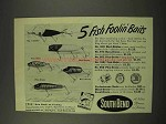 1949 South Bend Fishing Lures Ad - 910 973 952 1991 956