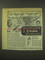 1949 Crosman CO2 Pistol and Rifle Ad - Perfect Gift