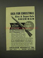 1949 Sheridan Silver Streak Rifle Ad - For Christmas