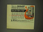 1949 Hobart Combination AC Welder & Power Generator Ad