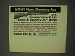1949 Crosman Town & Country Jr. Rifle Ad - More Fun