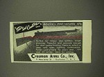1949 Crosman Town and Country Rifle Ad - Versatile
